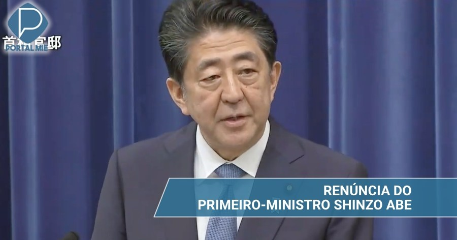 &nbspEl Primer Ministro Shinzo Abe renuncia por motivos de salud