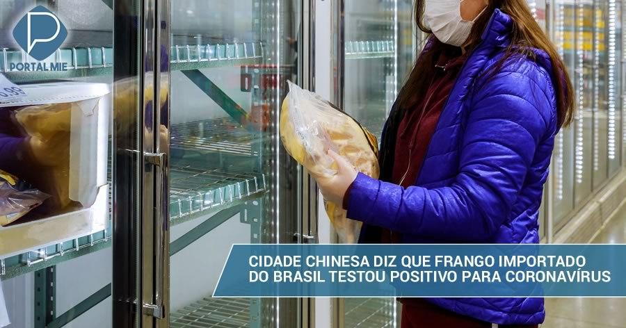 &nbspCiudad de China detecta coronavirus en pollo importado de Brasil