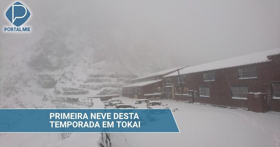 &nbspPrimera nieve de la región Tokai
