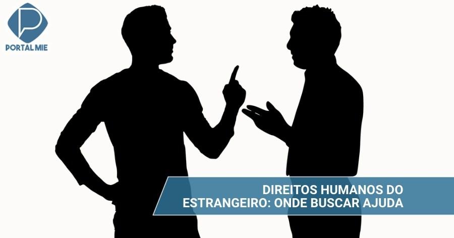 &nbspDerechos humanos de los extranjeros: ayuda en español y en otros idiomas