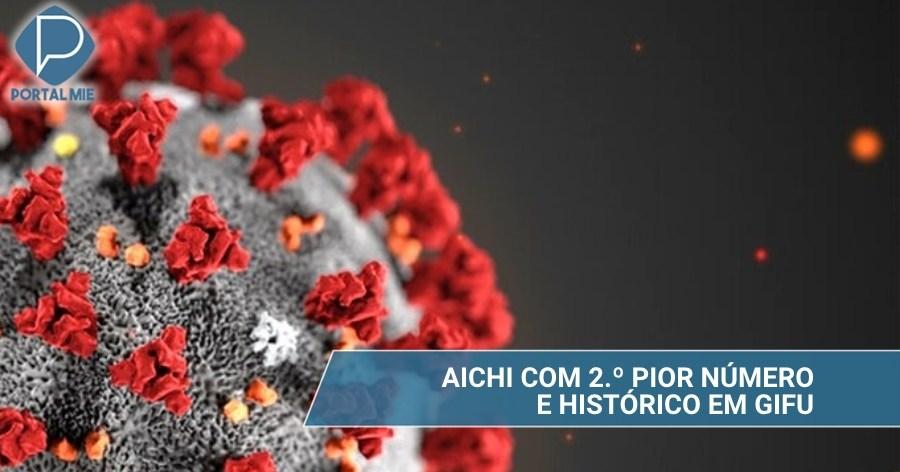 &nbspInfección en Tokai: Aichi con 242 y Gifu con el mayor número hasta ahora