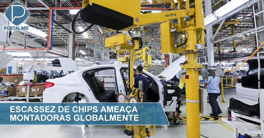 &nbspEscasez global de chips amenaza a montadoras