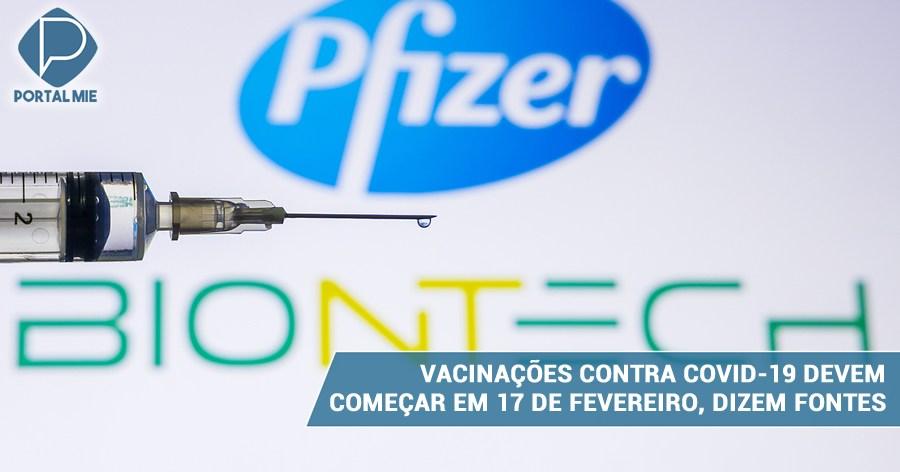 &nbspCovid-19: Vacunaciones pueden comenzar el 17 de febrero