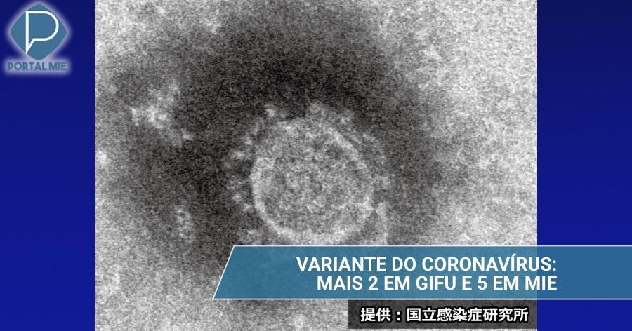 &nbspGifu y Mie: más confirmaciones de la infección por la variante del coronavirus