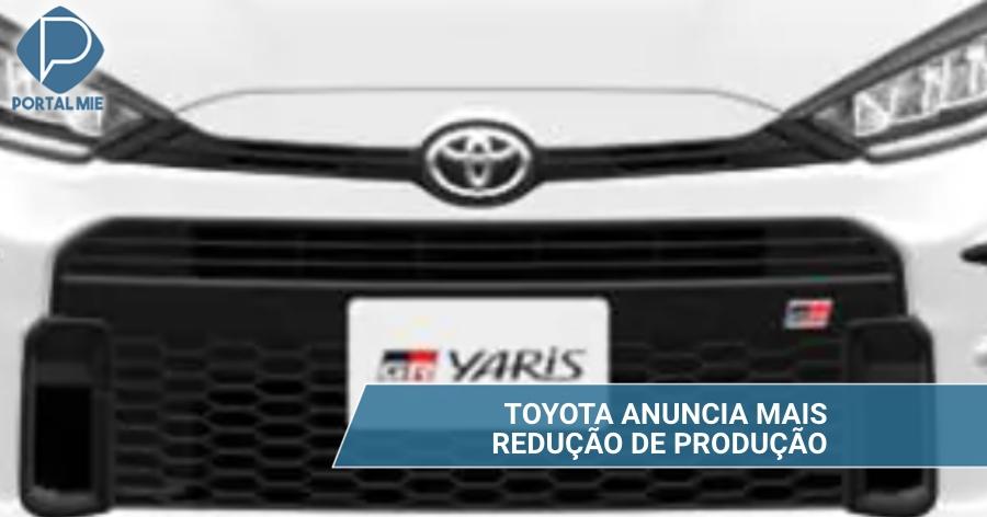 &nbspToyota: reducción de producción de 400 mil vehículos