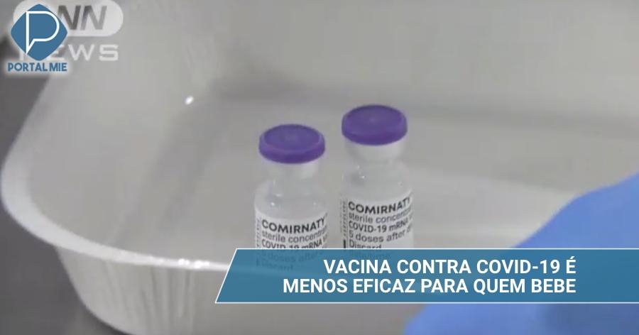 &nbspLa vacuna es menos eficaz para quien bebe con frecuencia